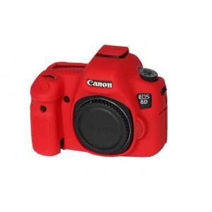 Easycover para Canon EOS 6D (Roja)