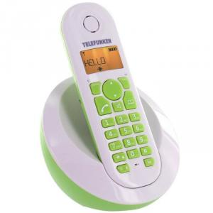 Teléfono inalámbrico Telefunken TB201 Verde