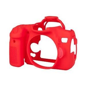 Easycover para Canon EOS 70D (Rojo)