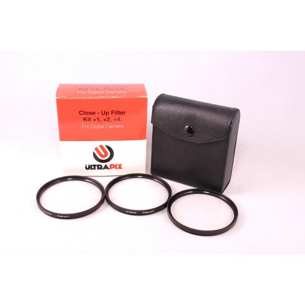 Kit de filtros 58MM de aproximación +1, +2, +4 Ultrapix