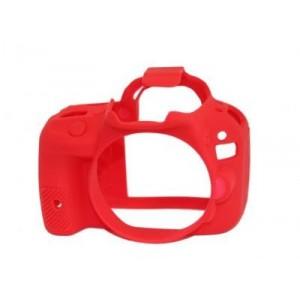 Easycover para Canon EOS 100D (Rojo)