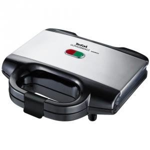 Sandwichera Tefal Ultracompact Black & Inox SM155212