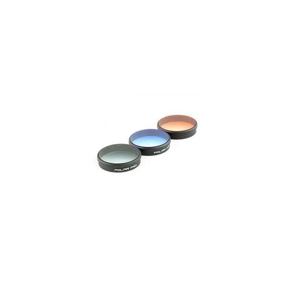 Pack 3 Filtros para GoPro Gradient.