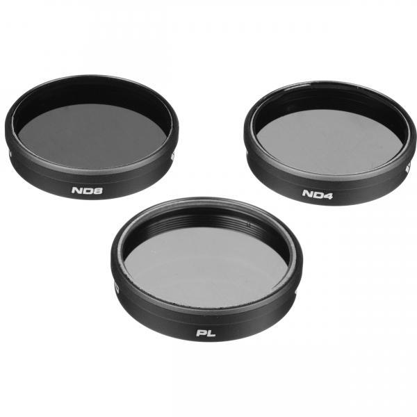 Pack de 3 filtros PolarPro para GoPro