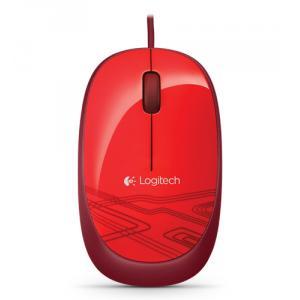 Ratón con cable Logitech M105 Rojo