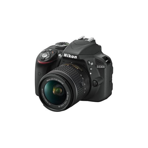 Cámara Réflex Nikon D3300 + AF-P 18-55mm VR