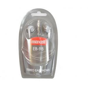 Auricular Maxell EB-98 Plata