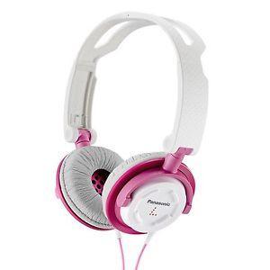 Auriculares Panasonic RP-DJS150 Rosa