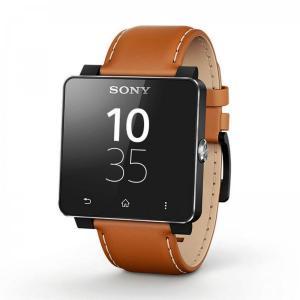 Reloj Sony Smartwatch 2 SW2 Correa piel marrón