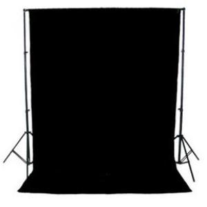 Fondo para estudio en tela 3x3 (reversible blanco y negro)