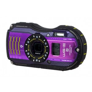 Pentax optio WG3 GPS lila
