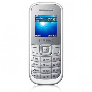 Samsung Keystone 2 GT-E1200 blanco