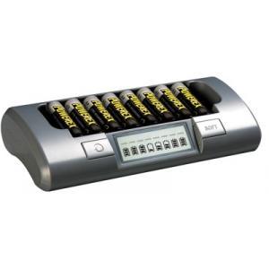 Cargador Powerex MH-C800S + PILAS AA POWEREX 2700 Mah+2 Est
