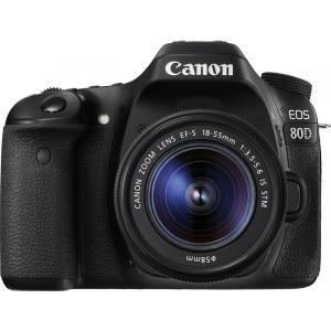 Cámara Réflex Canon EOS 80D + 18-55MM IS STM
