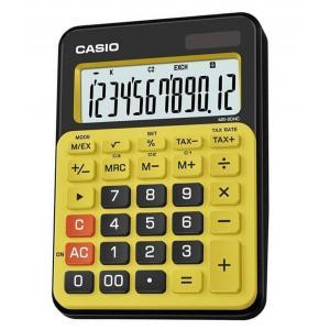 Calculadora Casio MS-20NC Amarilla y negra