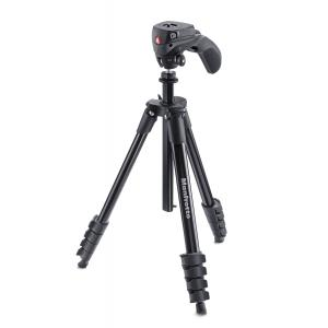 Trípode Manfrotto Compact Action Negro MKCOMPACTACN-BK