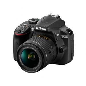 Cámara Réflex Nikon D3400 + AF-P 18-55mm VR
