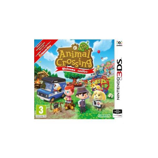 Juego Nintendo 3ds Animal Crossing Welcome Amiibo