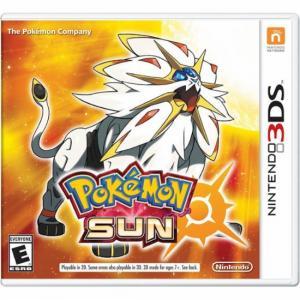 Juego Nintendo 3DS Pokémon Sol Edición Especial