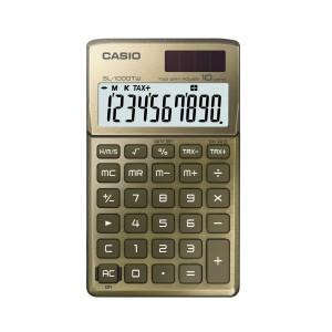 Calculadora Casio SL1000TW dorado