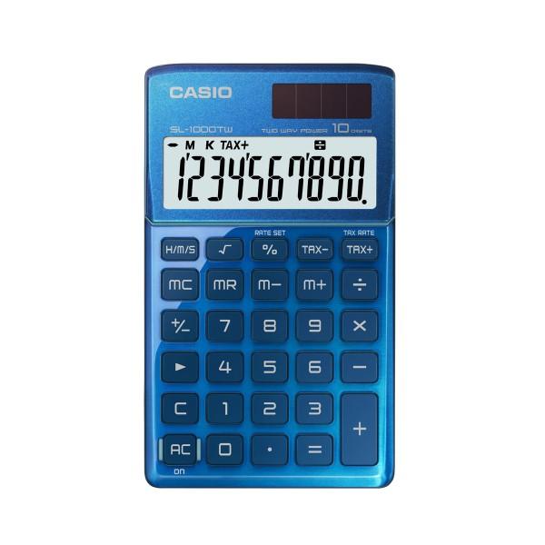 Calculadora Casio SL1000TW azul