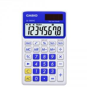 Calculadora Casio SL300VC azul