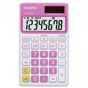 Calculadora Casio SL300VC rosa