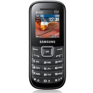 Teléfono móvil samsung GTE1207 negro