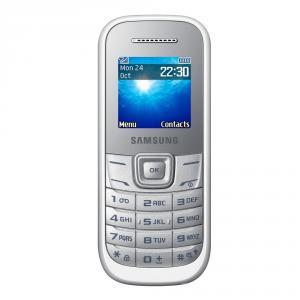 Teléfono móvil Samsung GTE1207 blanco