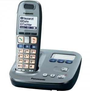 Teléfono inalámbrico Panasonic KX-TG6571 Plata