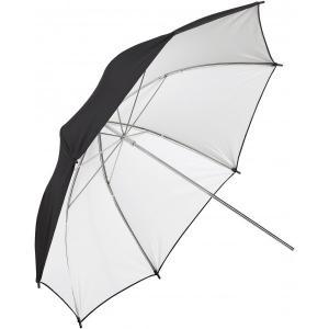 """Paraguas para estudio Blanco y Negro 100"""" Metz"""