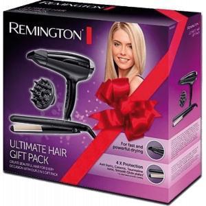 Pack secador + plancha de pelo Remington D5215 + S1510