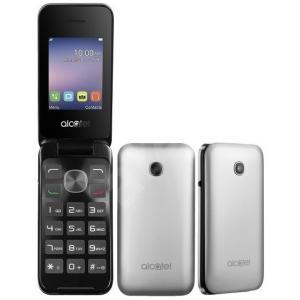 Teléfono móvil Alcatel 2051D plata