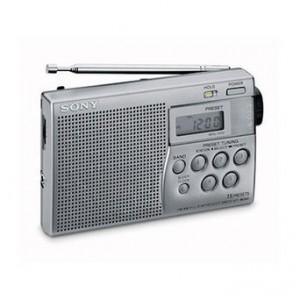 Radio Sony ICFM260 Plateada