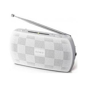 Radio Sony SRF18 Blanco