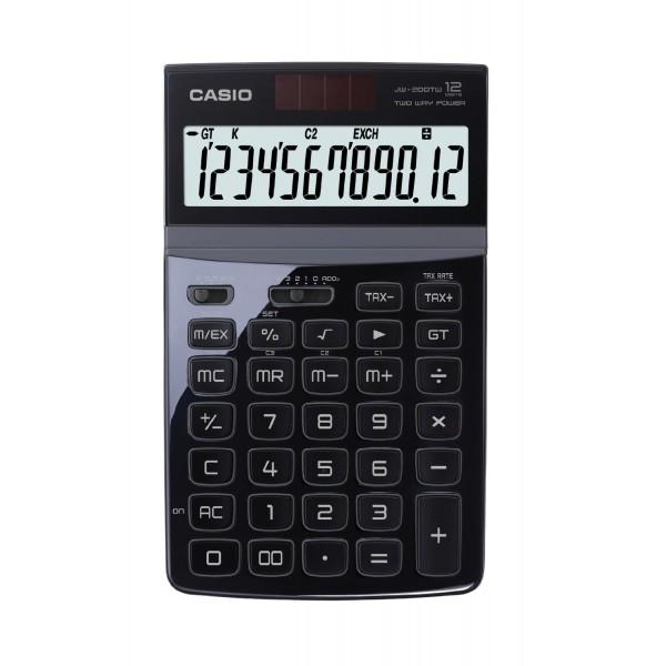 Calculadora Casio JW200TW negro