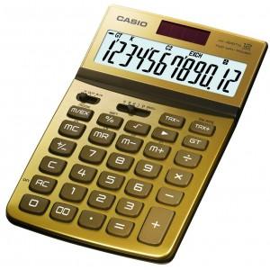 Calculadora Casio JW200TW dorado