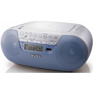 Reproductor de CD Sony ZS-PS30 azul