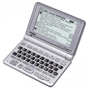 Diccionario Casio EW-S200