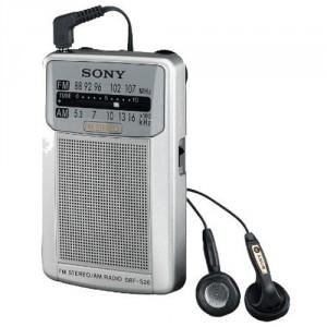 Radio Sony SRFS26 PLATA