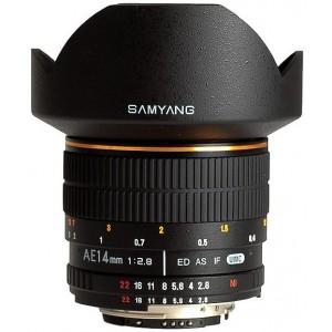 Samyang 14mm f/2.8 ED AS IF UMC para Canon