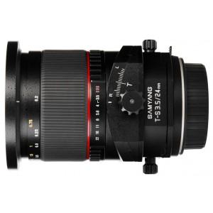 Samyang T-S 24mm f/3.5 ED AS IF UMC para Canon