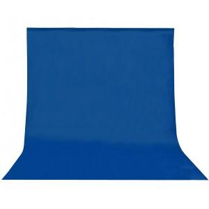 Fondo de tela para kit de estudio azul 3 x 5m