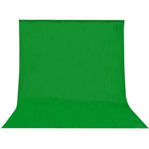 Fondo de tela para kit de estudio verde 3x5m