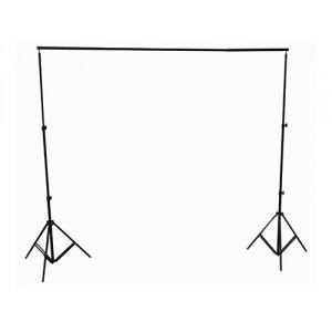 Soporte para fondos de tela de 280cm x 32cm