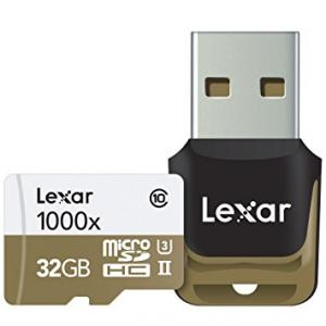 Tarjetas Lexar Professional 1000x microSDHC/microSDXC UHS-II 32Gb