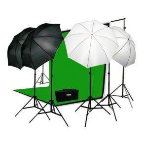 Kit de estudio con iluminación UPFK-PKBG01