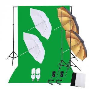 Kit de estudio con iluminación UPFK-PKBG08