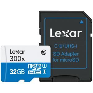 Tarjeta de memoria Lexar microSDHC/microSDXC UHS-I 300x 32Gb