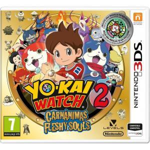 Juego Nintendo 3DS YO-KAI WATCH 2: Carnánimas Fleshy Souls